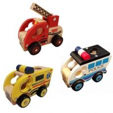 Grijpauto politie, brandweer, ambulance